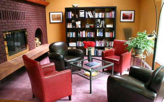 Courtenay, كندا: Guest Lounge
