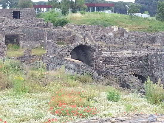 City Wonders: Pic of the ruins in Pompeii