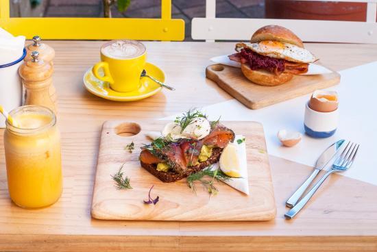 Breakfast at Fika Swedish Kitchen