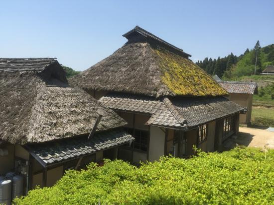Hattoji International Villa: Back view of the Villa