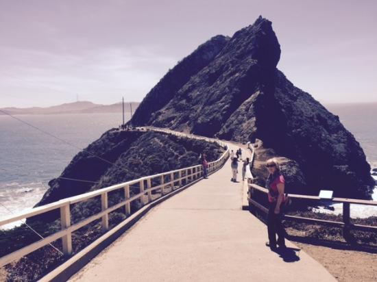 Sausalito, CA: Hike to Point Bonita Lighhouse - SF Bay