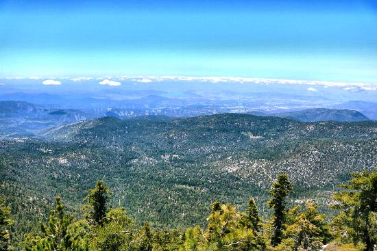 Idyllwild, CA: Fantastic view from Tahquitz Peak