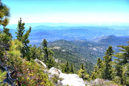 Idyllwild, Калифорния: Fantastic view from Tahquitz Peak