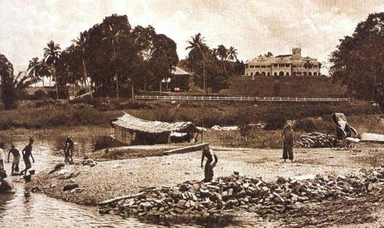 Kuala Kangsar, ماليزيا: Kuala kangsar long time ago. View from taman k.Kanak!!!