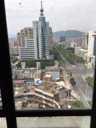 Jieyang, Cina: View from my room