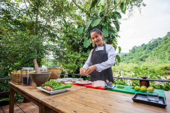 Muang La, Laos: Enjoy cooking class