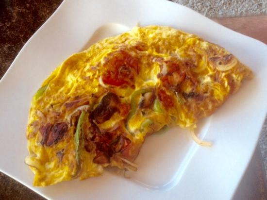 Sougia, กรีซ: Omelette Special