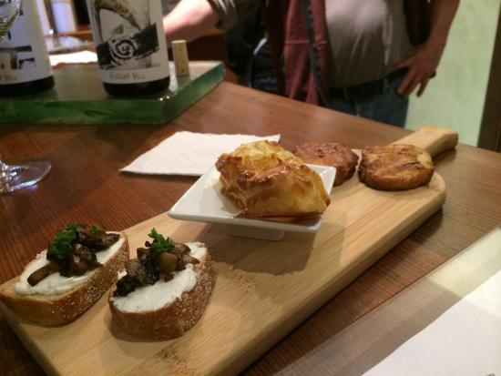 Philo, Californien: Awesome Cheese Dishes