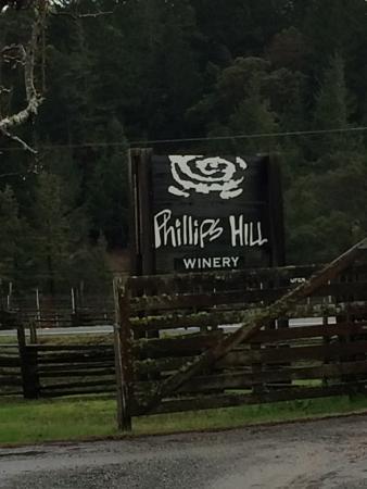 Philo, CA: Sign