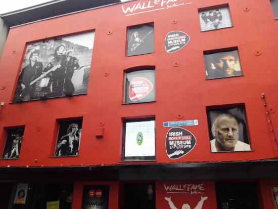 wall of fame picture of wall of fame dublin tripadvisor. Black Bedroom Furniture Sets. Home Design Ideas