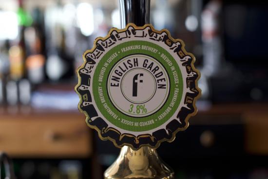 Southwick, UK: Constant rotation of sussex real ales