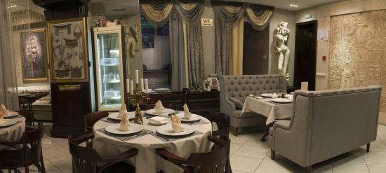 Paramartha: Интерьер кафе