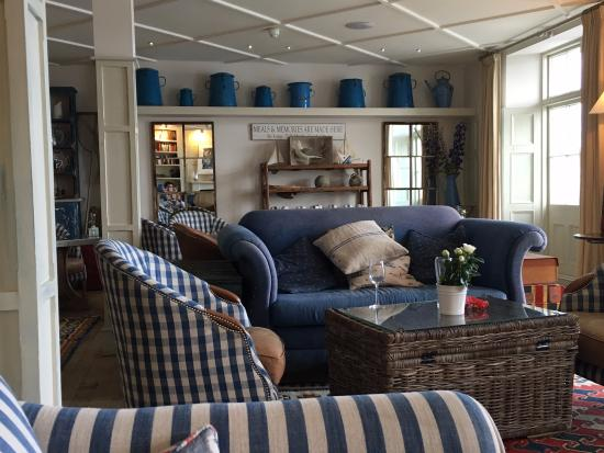 St Mawes, UK: 1st Floor Lounge