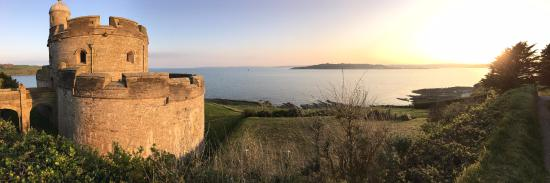 View from St Mawes Castle
