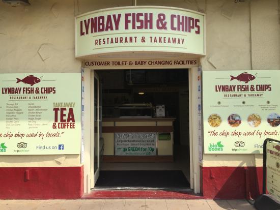 Lynbay Fish and Chips : Lynbay fish and chip shop 2016