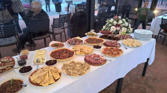 Монтеспертоли, Италия: I nostri buffet