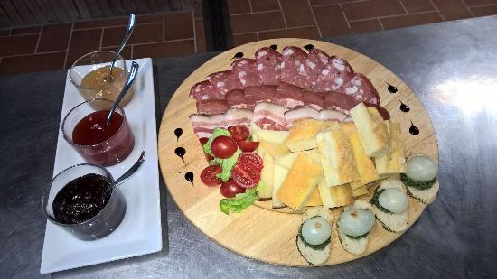 Монтеспертоли, Италия: I nostri piatti