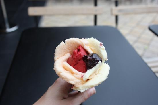 Amorino: Eisblume Nr.1