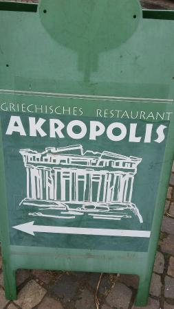 Bullay, Germany: Restaurant Akropolis