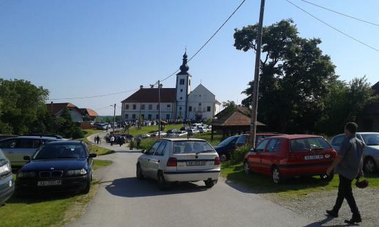 Paulin monastery Kamensko and Church of Our Lady of The Snows