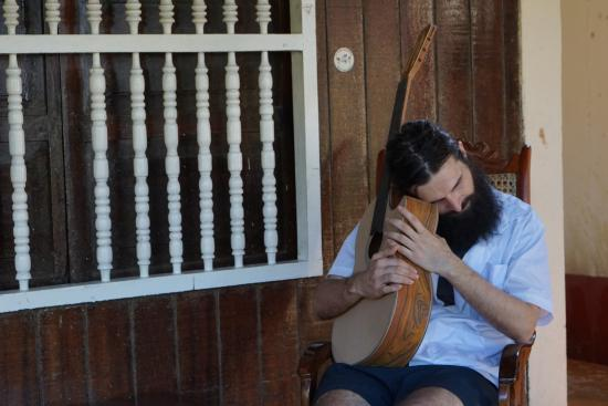 Masaya, Nicaragua: In Production - my guitar in production at Guitarras Zepeda