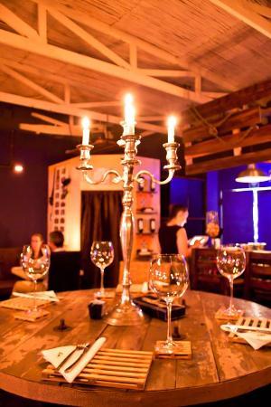 Bloubergstrand, Sudáfrica: Table seating