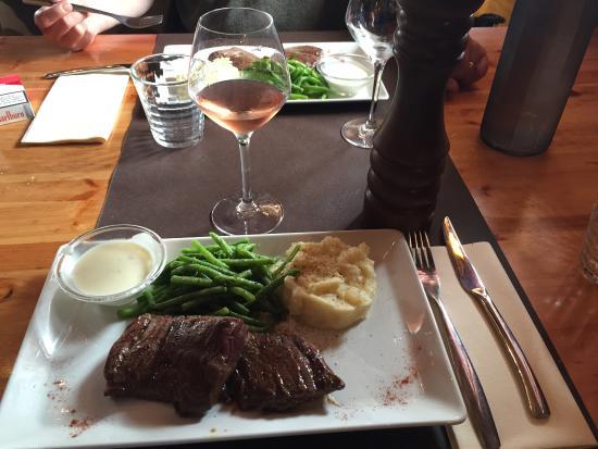 Латте, Франция: Excellent pour le déjeuner  ! 😜