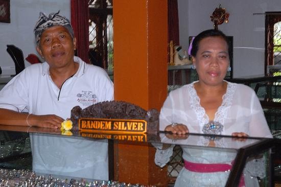 Sukawati, Indonesia: In the showroom Bandem Silver