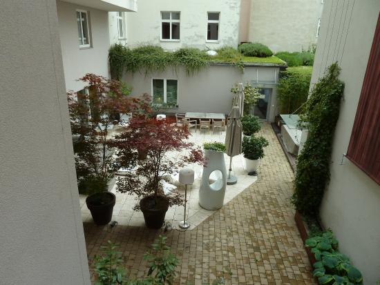 Der Wilhelmshof: Innenhof