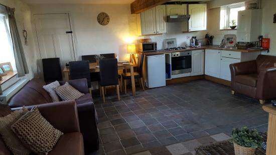 Brechfa, UK: Lounge area