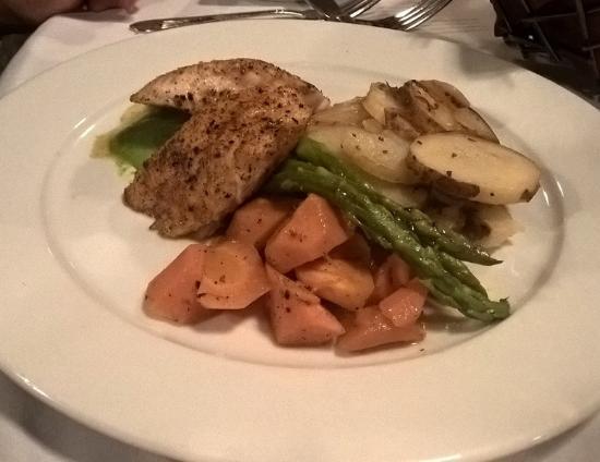 Hayesville, Северная Каролина: Special that night: Corvina fish