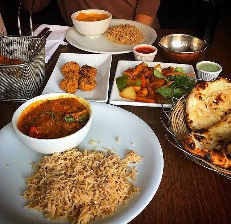 5 dish tapas between 2