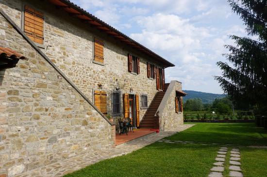 Lisciano Niccone, Italia: Das Haupthaus