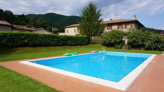 Lisciano Niccone, Italia: Der Pool