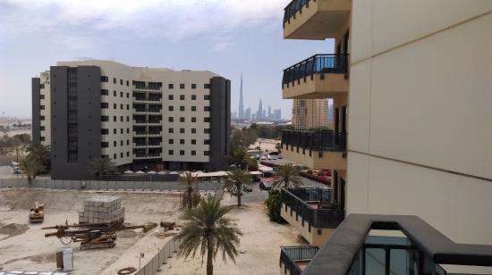 Arabian Park Hotel: view from balcony