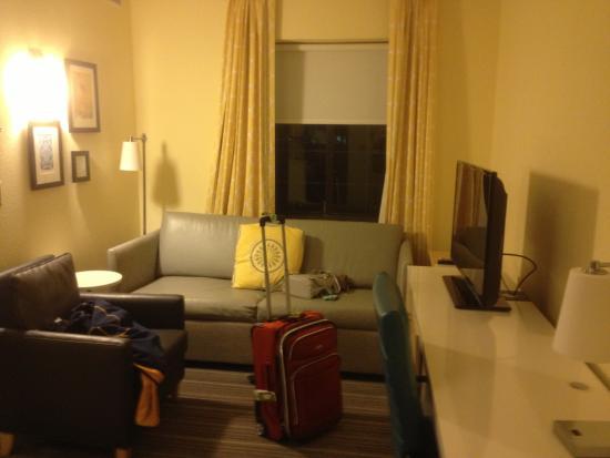 Sonesta Es Suites Parsippany Living Room Area