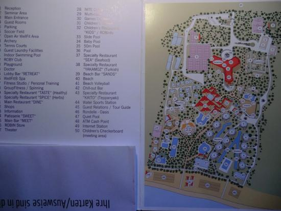 tui karte Karte der Anlage   Picture of TUI Magic Life Masmavi, Belek  tui karte