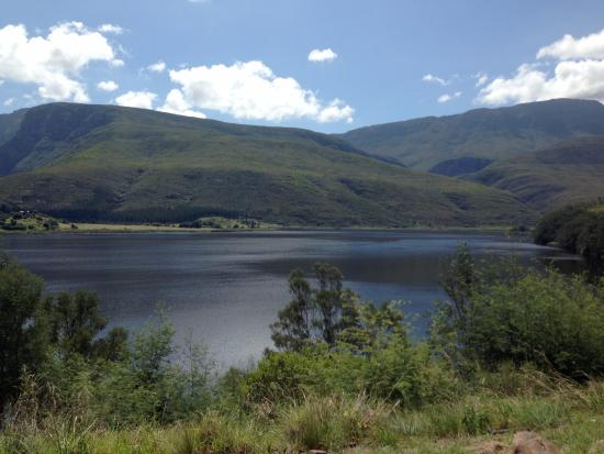 Umshanti : View from the camping sites
