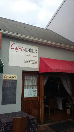 Cafe Le Boer