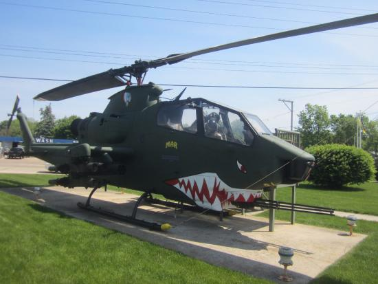 Dixon, IL: fighter helicopter used in Nam