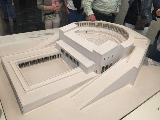 da03046c5213 Museo Del Teatro Romano  Model of Theatre - Not all Parts Restored today