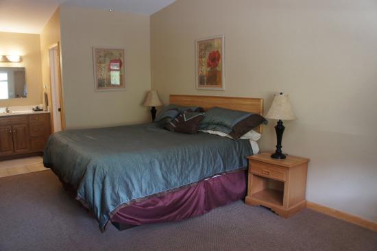 Buena Vista, CO: Comfy bed, great sheets, good pillows