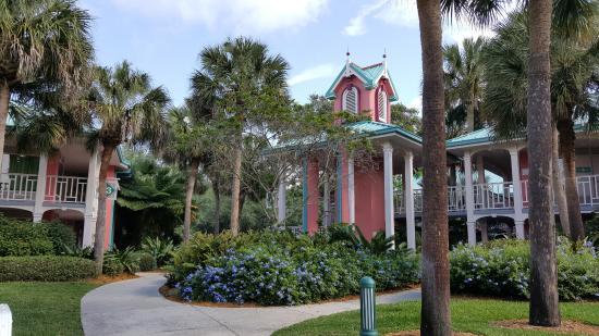 Resort map Picture of Disneys Caribbean Beach Resort Orlando