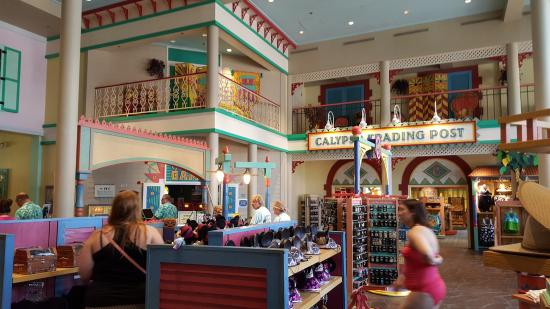 Resort map - Picture of Disney\'s Caribbean Beach Resort, Orlando ...