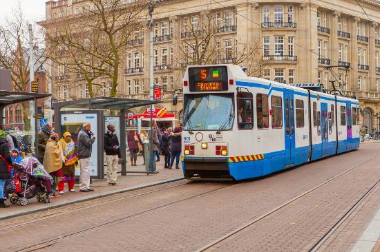leidseplein tram stop picture of hotel de paris amsterdam amsterdam tripadvisor. Black Bedroom Furniture Sets. Home Design Ideas
