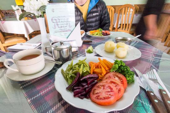 Restaurant Pagador: Opção vegetariana