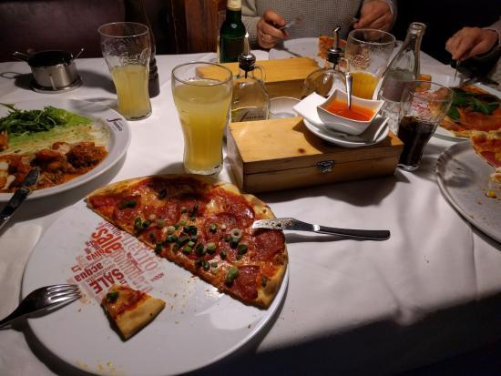 Ristorante Francesco Grinzing: Sehr gute Pizza