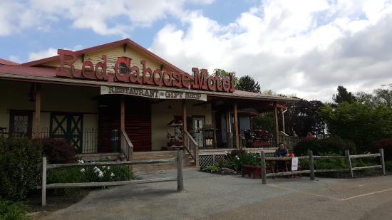 Red Caboose Motel, Restaurant & Gift Shop-billede