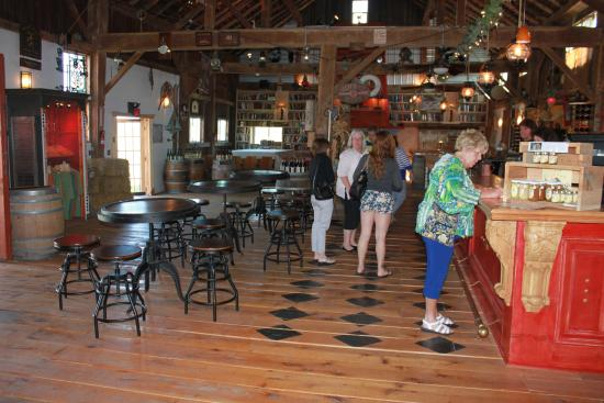 Lacey Magruder Winery: Inside the restored barn
