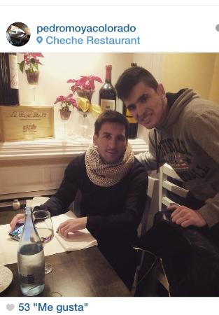 Restaurante Cheche: Leo Messi!!